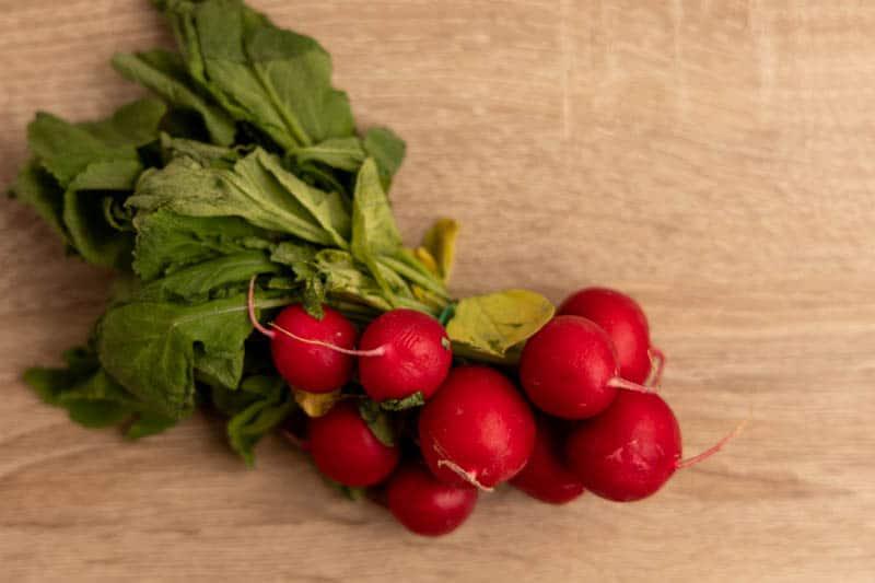 5 days in fridge radishes