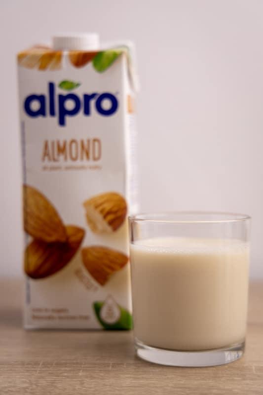 Almond milk and its carton