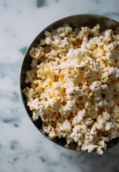 Big bowl of popcorn