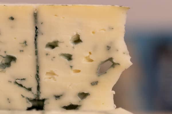 Blue cheese closeup