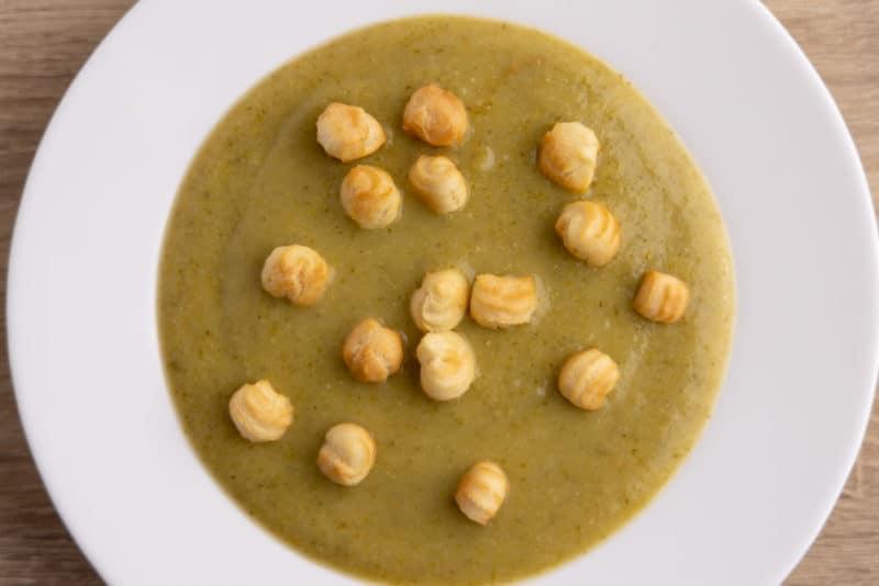Broccoli creamy soup