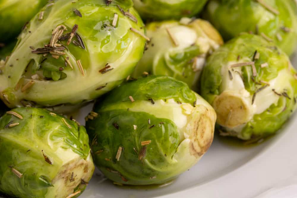 Brussels sprouts with spices