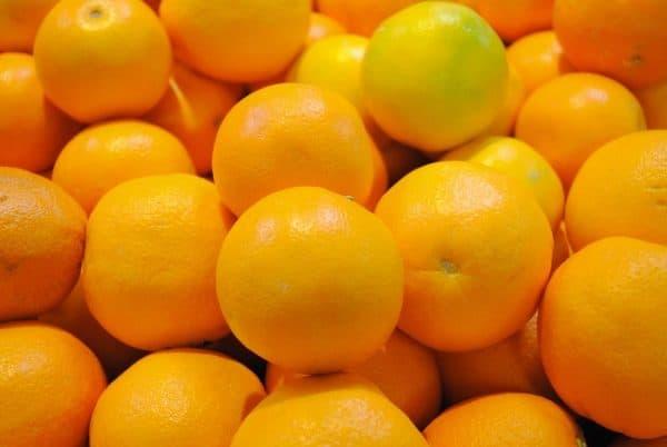 Bunch of oranges