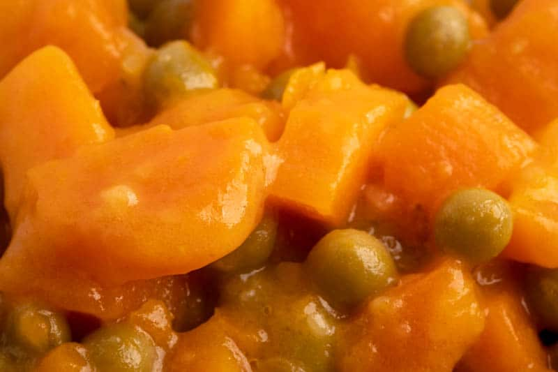 Carrots and peas salad