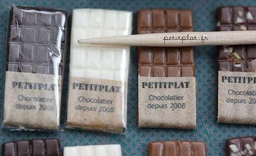 Few bars of chocolate