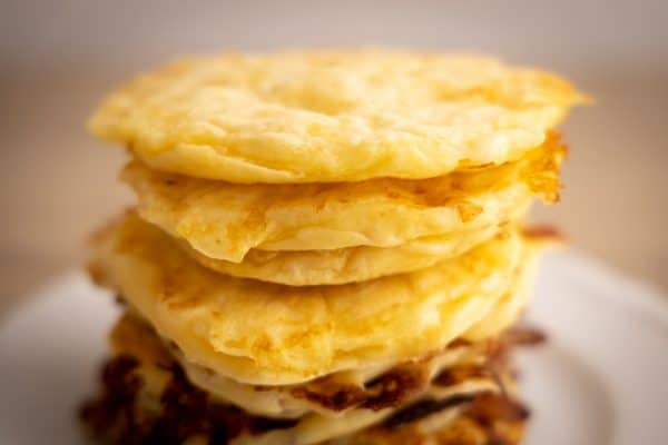 Cottage cheese based pancakes