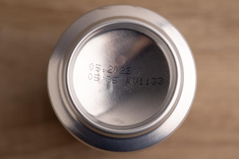 Date on soda bottom
