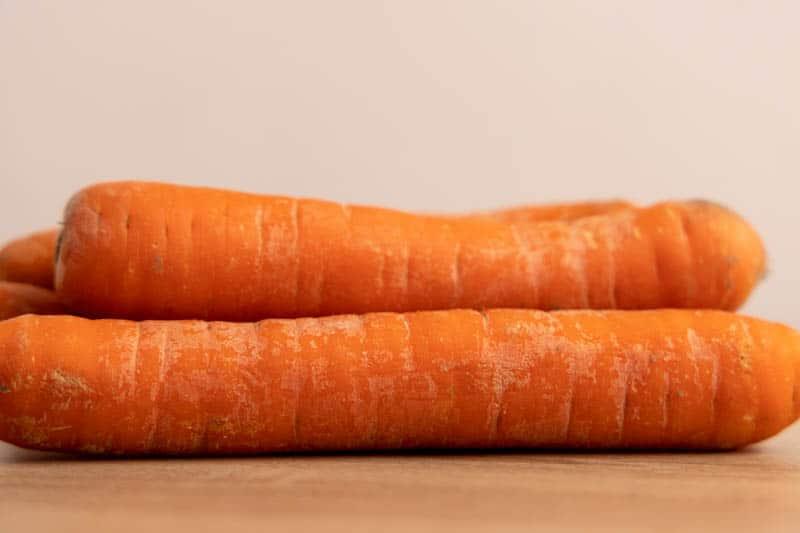 A few whole carrots