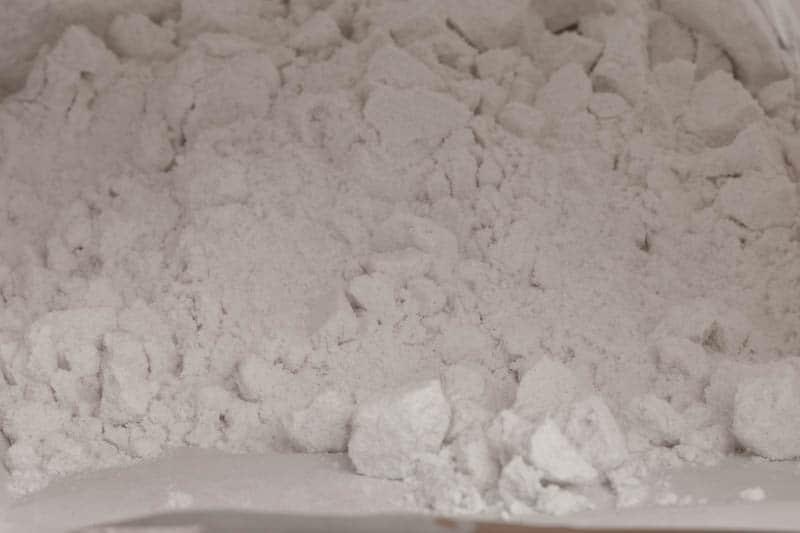 Flour - closeup