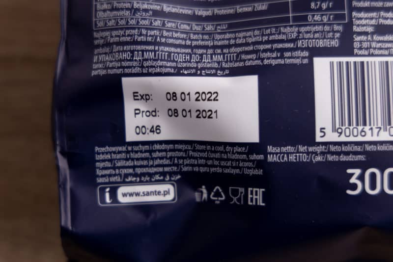 Granola best by date