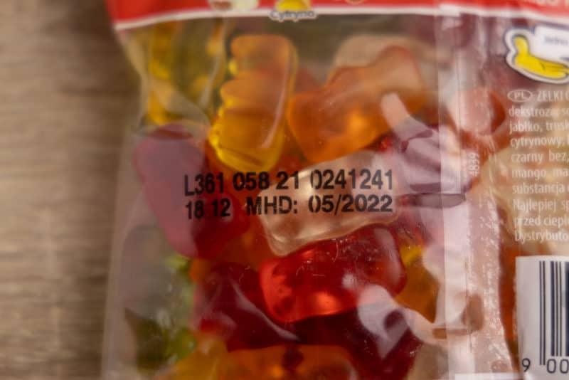Gummy bears best by date
