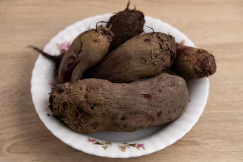 Just cooked beets