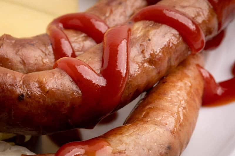 Ketchup closeup