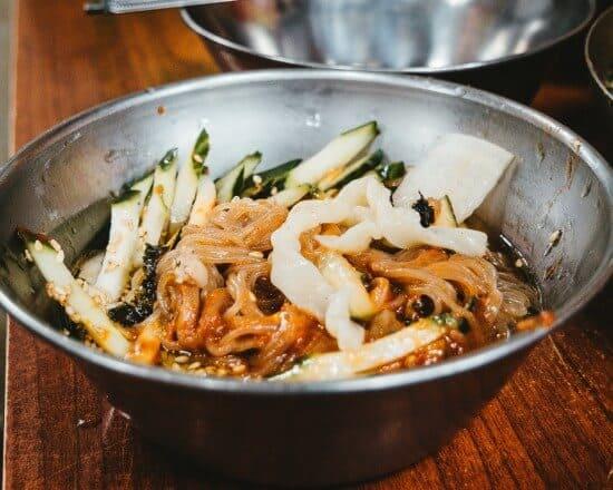 Korean pasta bowl