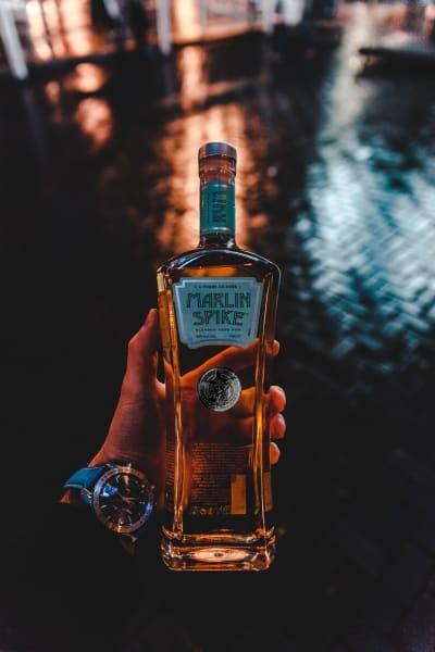 Bottle of Marlin Spike rum