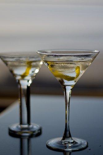 A Gin Martini