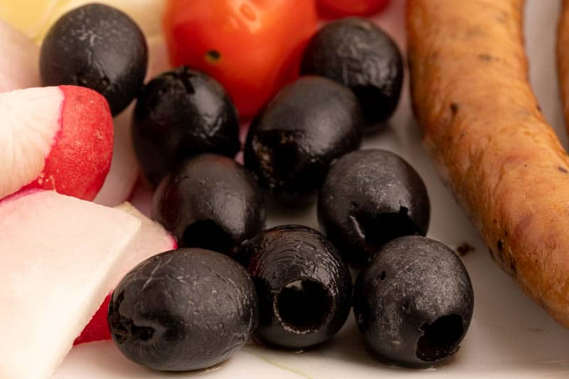 Olives for breakfast
