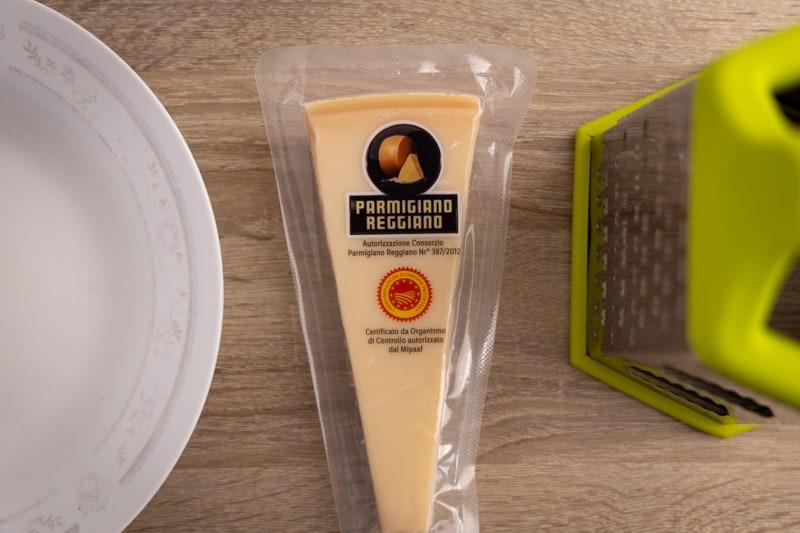 Parmesan in package