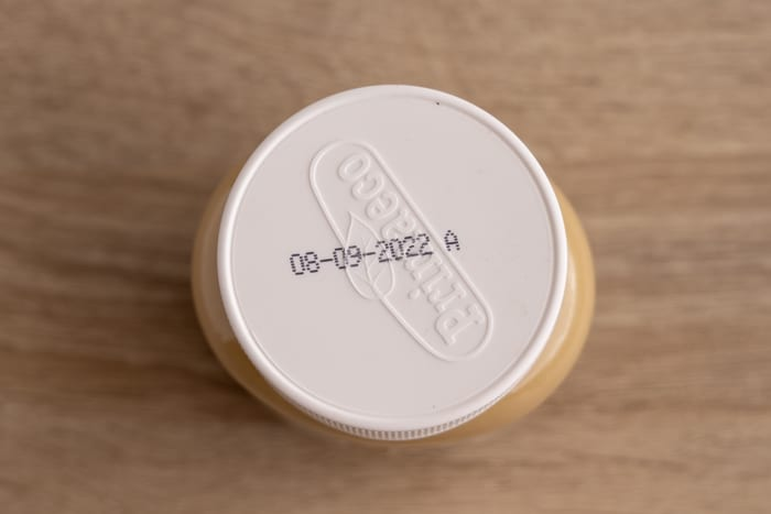 Peanut butter: best by date on label
