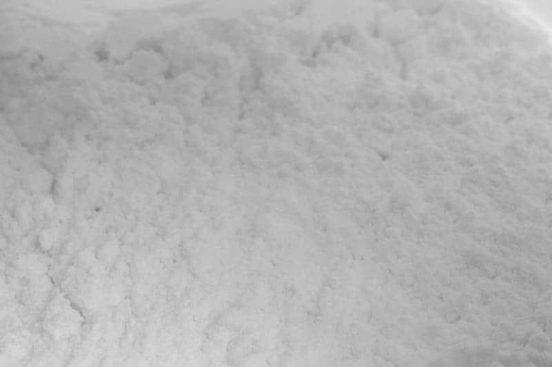 Powdered sugar in a bag