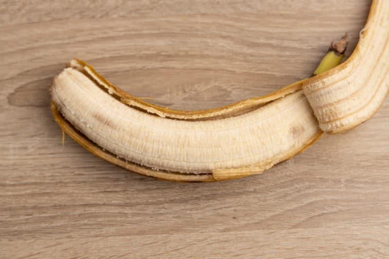 Refrigerated banana's flesh