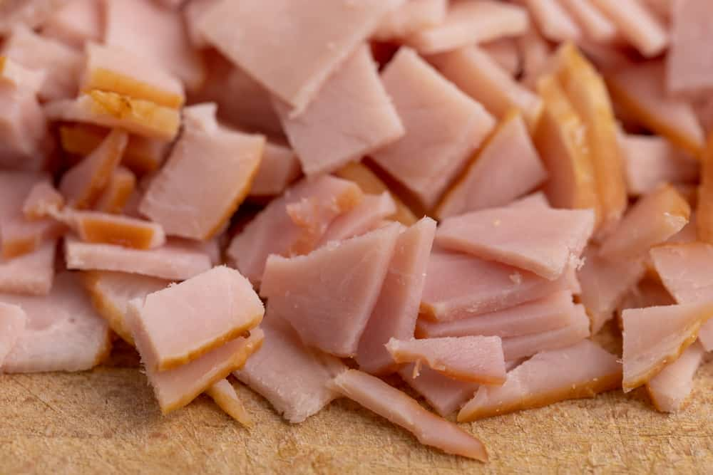 Sliced and diced deli meat