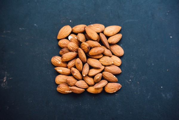 Small group of almonds