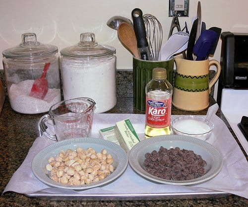 Corn Syrup in a Candy Recipe