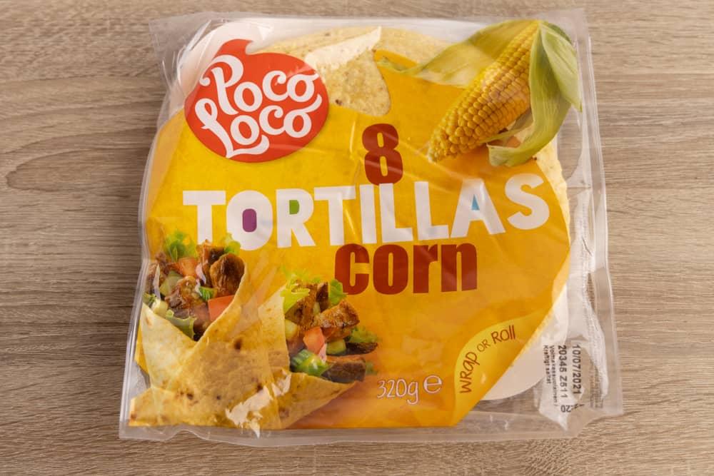 Tortillas package