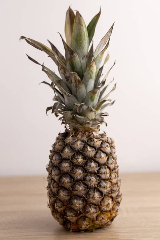 Whole old pineapple