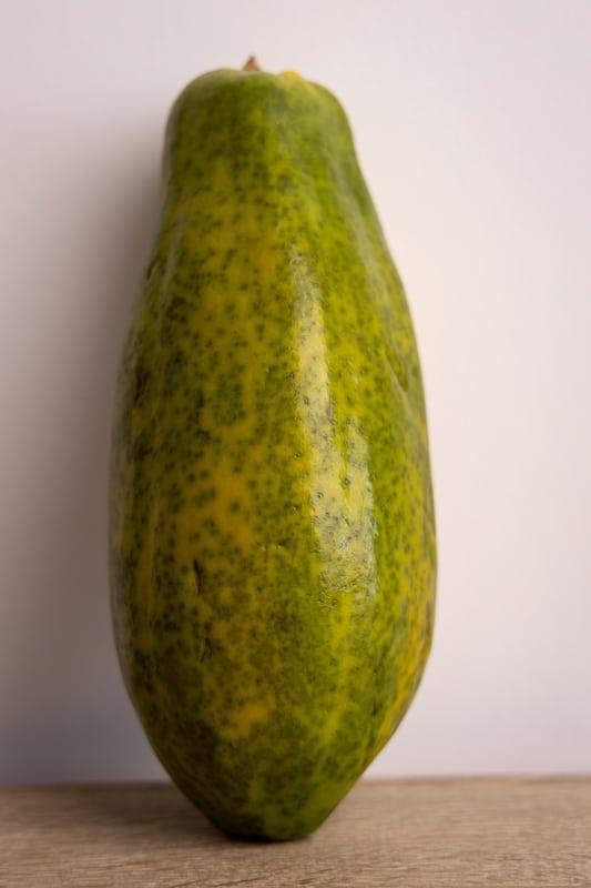 Whole papaya