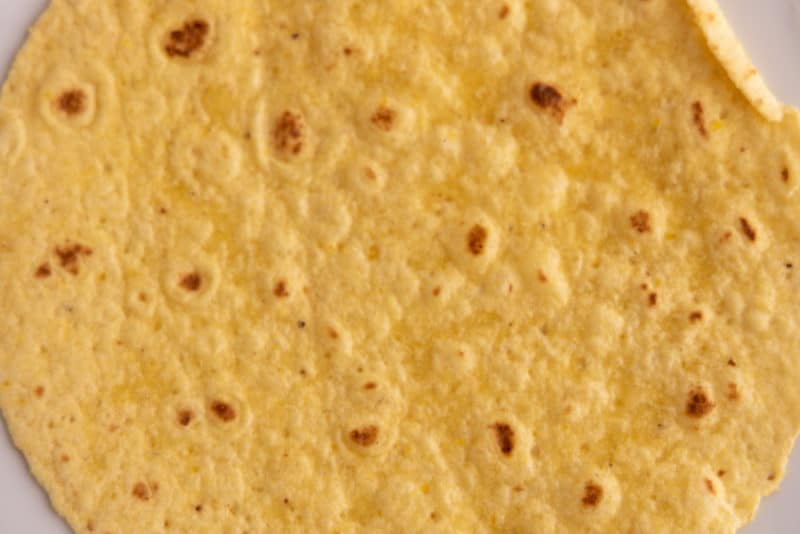 Whole tortilla