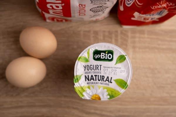 Yogurt and other ingredients