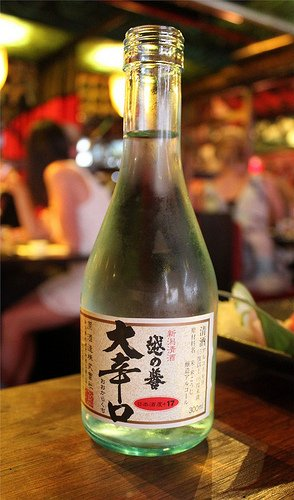 Bottle of sake
