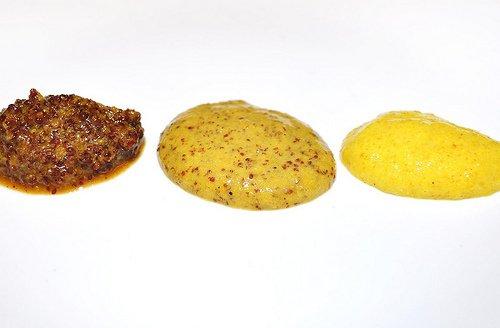 various types of mustards